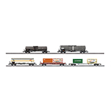 MiniTrix 15254.1 Set of 5 Modern Railroading Freight Cars