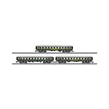 MiniTrix 15758 DER Holidays Express Set 1 with 3 Cars