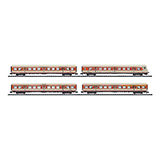 MiniTrix 15846 Set with 4 SBahn Commuter Cars DB