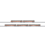 MiniTrix 15872 Express Train Passenger Car Set