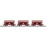 Trix 24523 Set with 3 Dump Cars with Hinged Roofs Tds FS