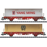 Trix 24139 Type Lgs 580 Container Transport Car Set