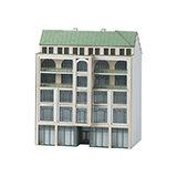 MiniTrix 66307 Building Kit for a City Building in Art Nouveau