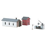 MiniTrix 66315 Building Kit for a Branch Line Maintenance Facility