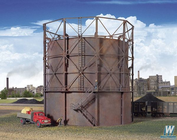Walthers Cornerstone 2907 Gas Storage Tank Kit