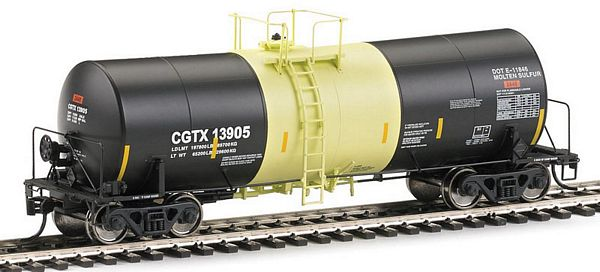 Walthers 100037 Trinlty Molten Sulfur Tank Car