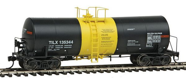 Walthers 100047 Trinlty Molten Sulfur Tank Car