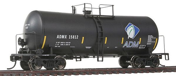 Walthers 100109 ADMX UTLX Funnel Flow Tank Car
