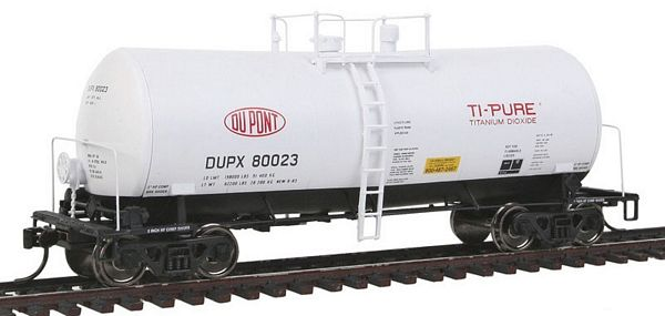 Walthers 100119 DuPont DUPX UTLX Funnel Flow Tank Car