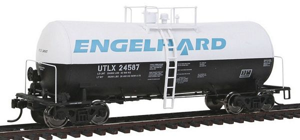 Walthers 100121 Engelhard UTLX Funnel Flow Tank Car