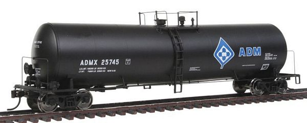 Walthers 100219 ADMX UTLX Funnel Flow Tank Car