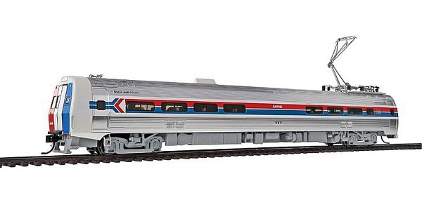 Walthers 13800 Amtrak Phase I Budd Metroliner EMU Snack Bar Coach