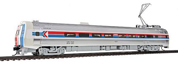Walthers 13820 Amtrak Phase I Budd Metroliner EMU Parlor Car