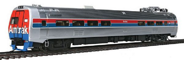 Walthers 14802 Amtrak Phase II Budd Metroliner EMU Snack Bar Coach