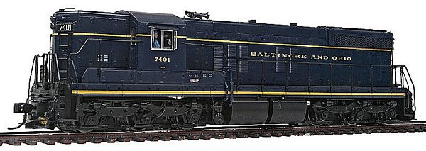 Walthers 48900 B and O EMD SD7