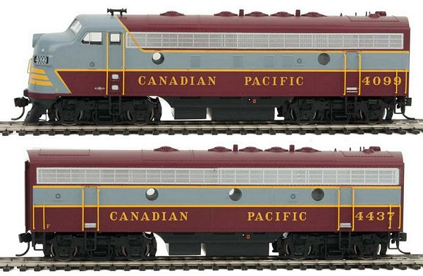 Walthers 91019905 EMD F7A-B Set with Sound DCC
