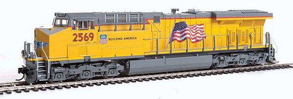 Walthers 91020174 GE ES44AC GEVO with Sound DCC