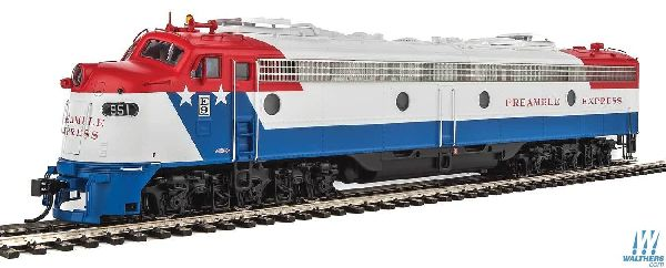Walthers 92042384 EMD E9A with LokSound Select and DCC Preamble Express UP