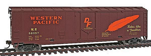 Walthers 9311675 Western Pacific Plug Door Boxcar