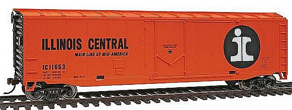 Walthers 9311678 ILLINOIS Central Plug Door Boxcar