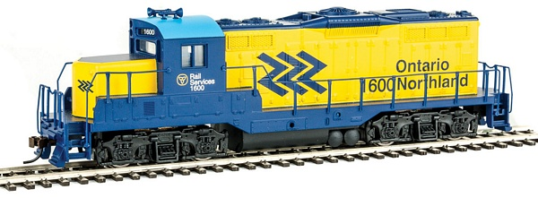 Walthers 931456 Ontario Northland EMD GP9M Standard DC