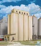 Walthers Cornerstone 2942 Modern Grain Head House with Silos Kit