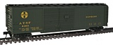 Walthers 10660 AAR Double Door Express Boxcar