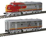 Walthers 40698 EMD F7A B Set DCC