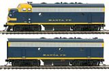 Walthers 91019901 EMD F7A-B Set with Sound DCC