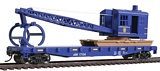 Walthers 9311780 Alaska Railroad Flatcar with Logging Crane