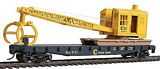 Walthers 9311782 Chessie System Flatcar with Logging Crane