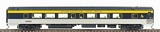 Walthers 9363 Pullman Standard 52 Seat Coach Fluted without Skirts