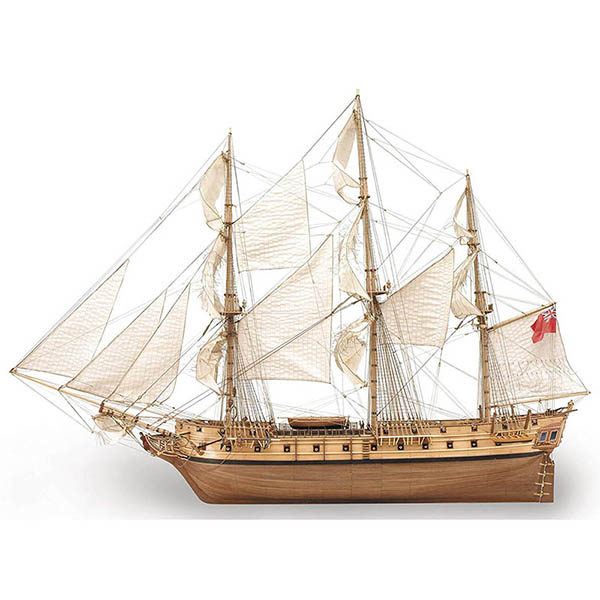 Artesania Latina represents the best wood kits of tall ships that also were used in motion pictures for special effects.