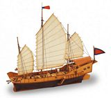 Artesania Latina 18020 Red Dragon Chinese Junk