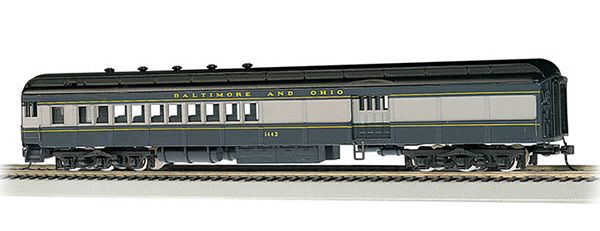 Bachmann 13602 Baltimore Ohio-1443 Blue Gray Black 72 Combine HO