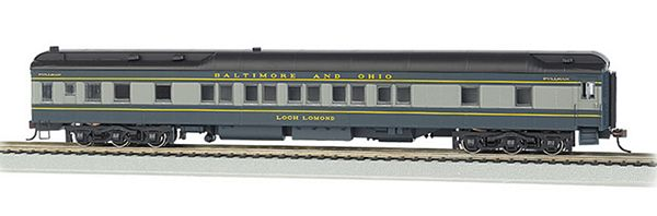 Bachmann 13903 Baltimore Ohio-Heavyweight 80 Pullman Ho Scale
