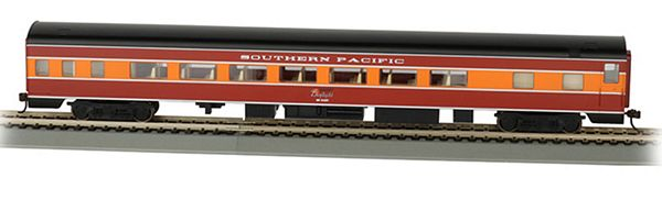 Bachmann 14207 SP Smooth Side Coach with Lights