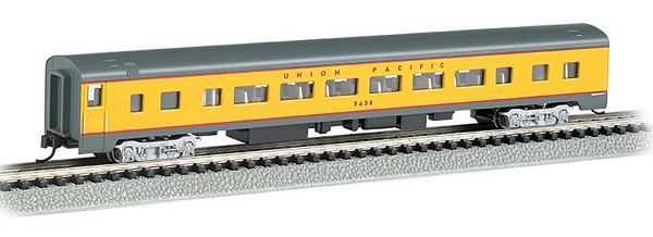 Bachmann 14254 UP Smooth Side Coach with Lights