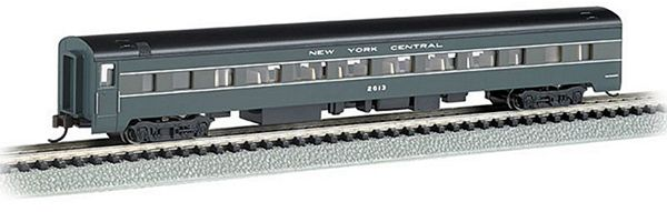 Bachmann 14255 NYC Smooth Side Coach with Lights