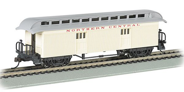 Bachmann 15303 Baggage 1860-80 Era Northern Central RR HO