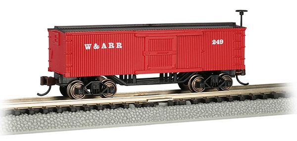 Bachmann 15654 Western And Atlantic Old-Time Box Car N Scale