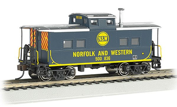 Bachmann 16813 Northeast Steel Caboose NW Blue HO