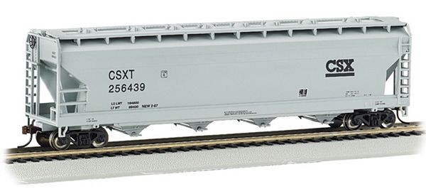 Bachmann 17501 ACF Center Flow Covered Hopper