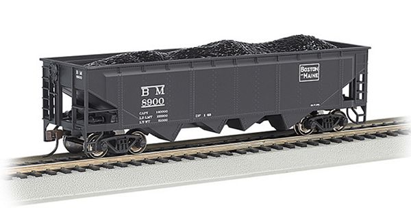 Bachmann 17644 40 Quad Hopper Boston Maine