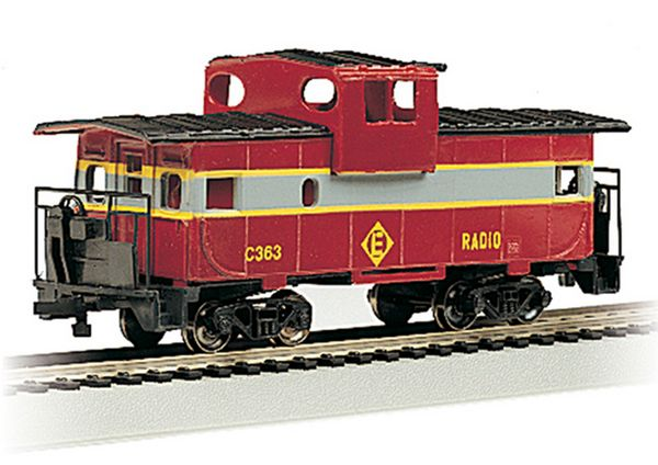 Bachmann 17728 Wide Vision Caboose Erie Lackawanna Caboose