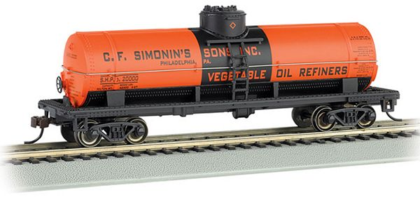 Bachmann 17847 40 Single Dome Tank CF Simonins Sons Inc HO