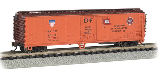 Bachmann 17955 American Refrigerator Transit Co ACF 50 Steel Reefer
