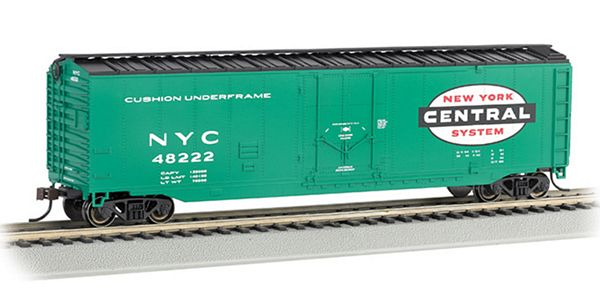 Bachmann 18020 50 Plug Door Box NYC HO