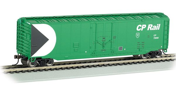 Bachmann 18027 50 Plug Door Box CP Rail Green HO