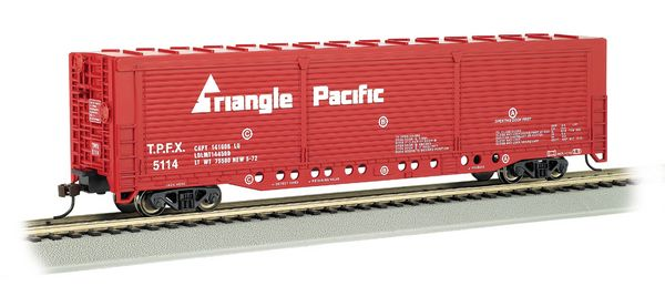 Bachmann 18138 ss Evans Boxcar Triangle Pacific HO